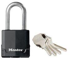 Master Lock Lucchetto ad alta sicurezza Excell da esterno antiruggine con Arco L