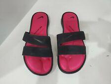 Nike Womens Black Slide Sandals Size 9 M