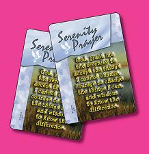Serenity Prayer - 2 Verse Cards - SKU# 518