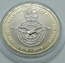 Royal Mint - 2018 RAF Badge BU £2 Coin - Two Pound - Supplied in a capsule