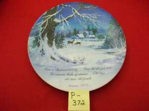 """1973 """"WINTERSCENE"""" SERIES PAINTING ROBERT LAESSIG, A.W.S. COMMEMORATIVE EDITION"""
