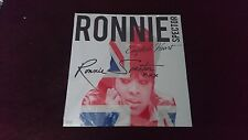 New Signed Ronnie Spector English Heart LP Vinyl Record Wax Ronnettes Autograph