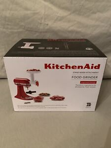 KitchenAid Food Grinder Stand Mixer Attachmenet KSMFGA Fine, Course Grinding NEW