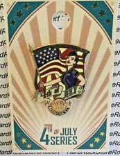 2018 HARD ROCK CAFE WASHINGTON DC 4th of JULY MILITARY SERIES LE PIN
