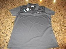 Nike Dri-Fit Golf Shirt M New Tags black NWT Danfoss women's