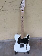 Fender Esquire Telecaster No Caster Pickup Maple White. Parts Guitar