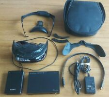 Sony HMZ-T3W Personal 3D Viewer Wireless Head Mounted Display Used