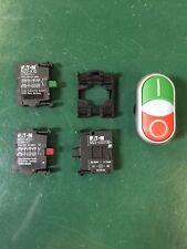 Eaton RMQ-Titan Doppeldrucktaster Komplettgerät M22-DDL-GR-X1/X0/K11/230-W