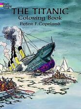 The Titanic Coloring Book (Paperback or Softback)