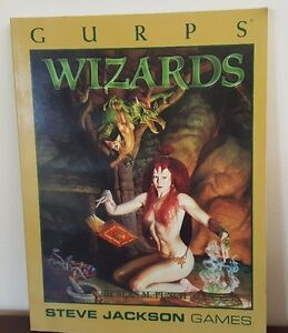 Wizards by Sean M. Punch - Steve Jackson Games - Gurps 1998
