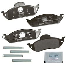 Disc Brake Pad Set-Premium Copper Free Semi-Metallic BPR Disc Brake Pad Front