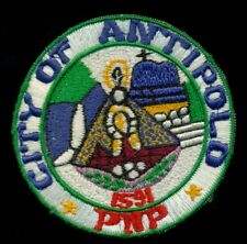 Philippines Philippine National Police Antipolo Patch RP-2