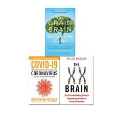 XX Brain Books Collection The Grain Brain,What you need  3 Books Collection Set