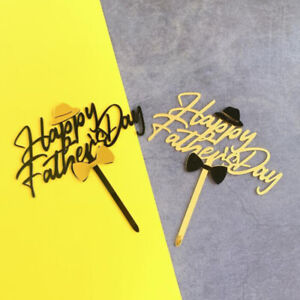 Acrylic Dad Cake Topper Happy Father's Day Cake Topper Father's Day Cake Top OH