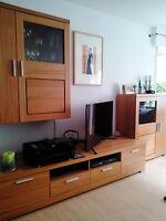 wohnzimmerschrank h lsta omnia ebay. Black Bedroom Furniture Sets. Home Design Ideas