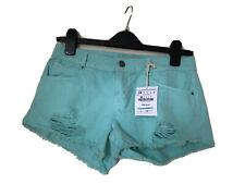 ZARA green Cotton Shorts Size 6