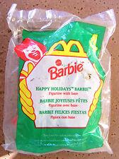 McDonalds Happy Meal Holidays Barbie #4 NIP