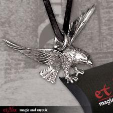 Echt etNox Adler Anhänger Bronze versilbert Gothic Schmuck - NEU
