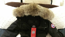 2018 LATEST ARRIVAL CONCEPT EDITION BLACK CANADA GOOSE VICTORIA LG PARKA JACKET