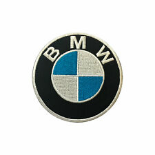 Pak of 100 pieces BMW Brand Racing Logo Embroidered Iron on Patch Sew on Badge