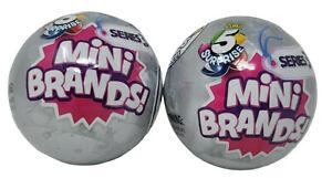 2-Pack Mini Brands Series 3 Balls Zuru 5 Surprise