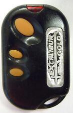 keyless remote entry alarm R&D #124 transmitter fob ATV clicker Excalibur Gold