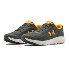 Under Armour Mens Surge 2 Running Shoes Trainers Sneakers Grey Orange Sports