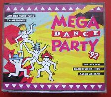 2 CD Mega Dance Party 92 Die Besten Dancefloor Hits Aller Zeiten
