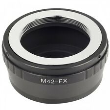 M42-Fuji Lens Adapter For M42 Lens To Fuji FX-mount + Allen Key UK Seller