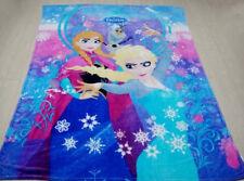 "New Frozen Elsa Anna Olaf Large King Size Fleece Blanket 79"" x 59"""