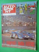Autosprint 1971/7 Lotus Calendar Corse Tricolori