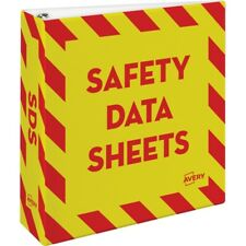 Avery Safety Data Sheets Binder (ave-18952) (ave18952)