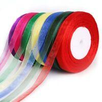 Craft Birthday Silk Roses Apparel Sewing Ribbons Satin Ribbon Organza Ribbon y