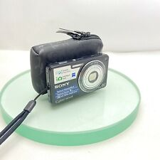 Sony Cyber-shot DSC-W350 14.1MP Digital Camera - Black, TESTED, Cased #489