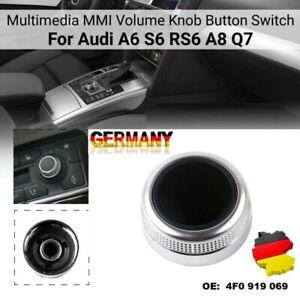 DE Multimedia Drehknopf Chrom MMI Knob für Audi A6 S6 A8 Q7, 4F0919069