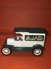 ERTL Die-Cast 1913 Replica Ford Model T Van Marshall Fields Truck Coin Bank A