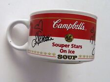 Souper Stars on Ice Figure Skating Mug Cup Olympics from Campbell's Soup 1998