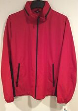 Michael Kors Hampton Jacket  Crimson Red Color  Size XLT NEW NWT