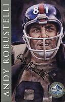 Andy Robustelli Signed Jsa 1998 Hof Signature Series 450/2500