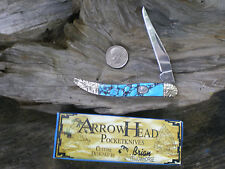 RR795 Custom design By Brian Yellowhorse Small Toothpick pocket knife