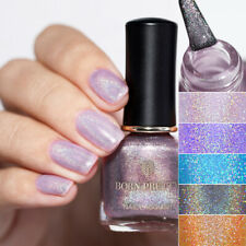 BORN PRETTY 6ml Holographicss Nail Polish Glitter Shimmer Laser Varnish