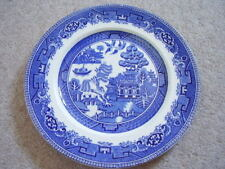 Alfred Meakin England porcelain blue and white WILLOW large plate