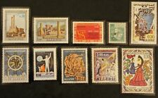 Timbre ALGERIE / ALGERIA STAMP 10 timbres de 1969 n** (Cyn23)