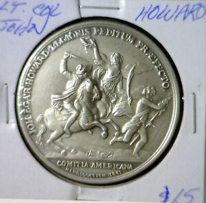 1776 AMERICAN REVOLUTION WAR w/ Battle Pic COLONEL John E. Howard GEM BU Coin NR