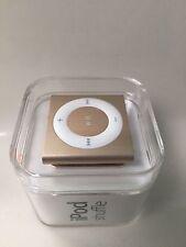 Apple iPod shuffle 2GB MP3 Player Gold 6th Generation MKM92LL/A NEU versiegelt
