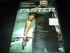 "DVD NEUF ""FASTER"" Dwayne JOHNSON, Billy Bob THORNTON"