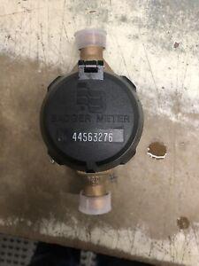 New Nsf-61 Badger 5/8x3/4 M25 Brass Water Meter