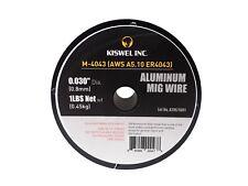 Er4043 0030 In Dia 1 Lb Aluminum Mig Welding Wire Spool Kiswel Usa M 4043