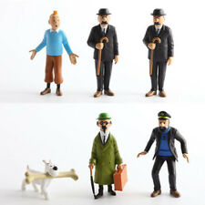 Cartoon Action Figure PVC Model Toy Child Gift The Adventures Of Tintin 6pcs/set