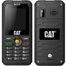 "CATERPILLAR CAT B30 Dual Sim Black IP67 2"" Waterproof Phone By FedEx"